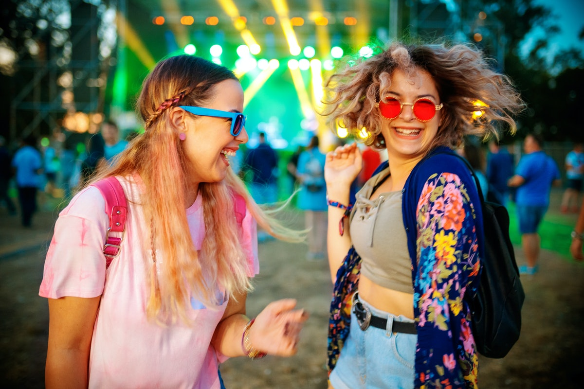 You can meet a single guy or girl at a music festival.