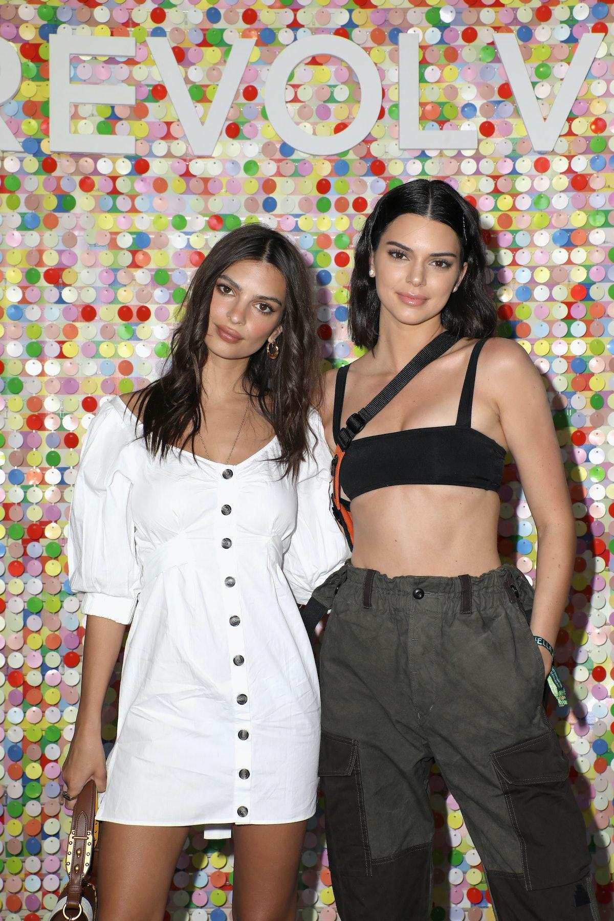 Emily Ratajkowski and Kendall Jenner look like twins.