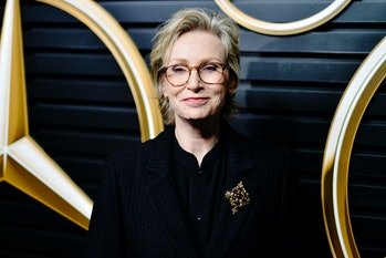 LOS ANGELES, CALIFORNIA - FEBRUARY 09: Jane Lynch attends the 2020 Mercedes-Benz Annual Academy View...