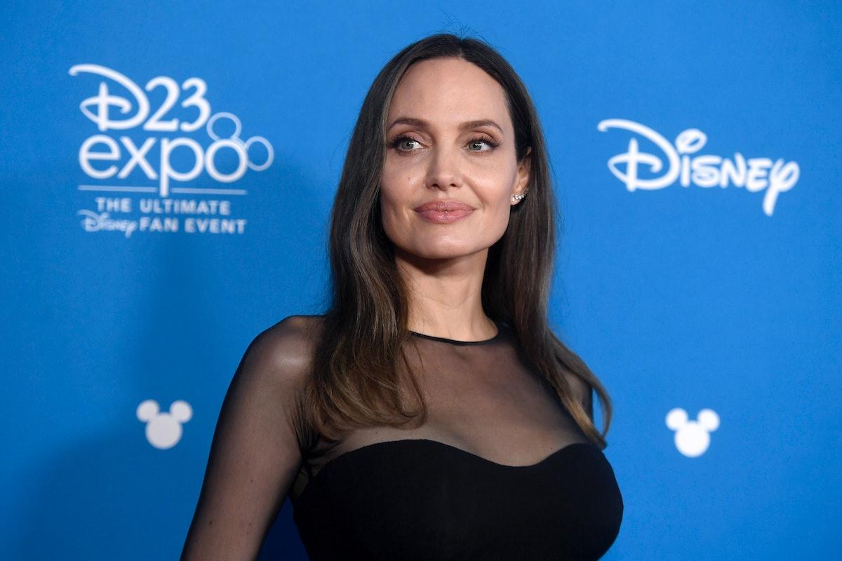 Angelina Jolie is a kinky celebrity who likes blood.