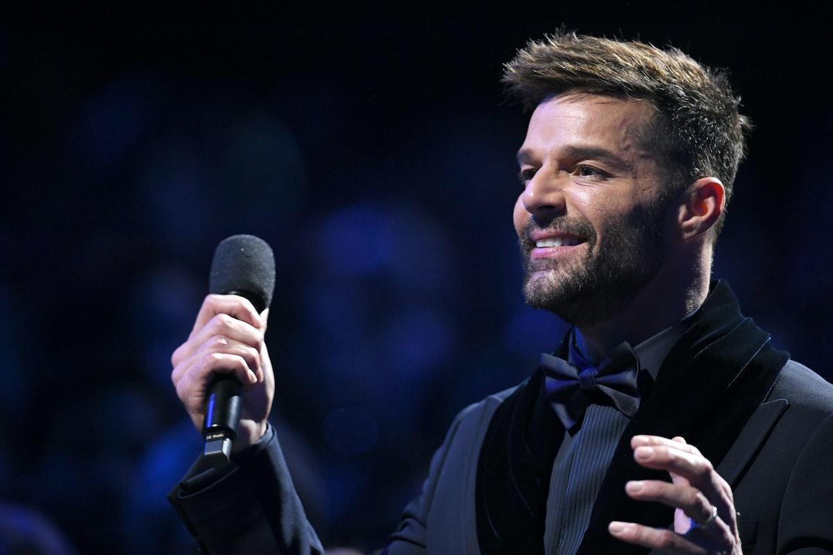 Ricky Martin is a kinky celebrity who likes golden showers.