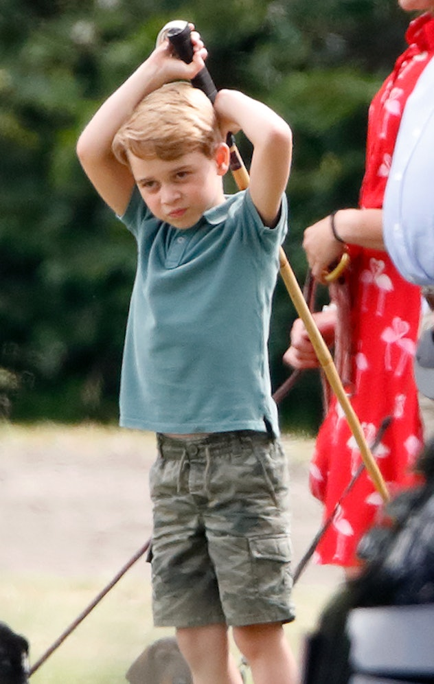 Prince George goes extra casual.