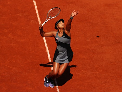 Naomi Osaka: Playing By Her Own Rules is the new Netflix documentary that follows the tennis champion for two years. Photo via Getty Images