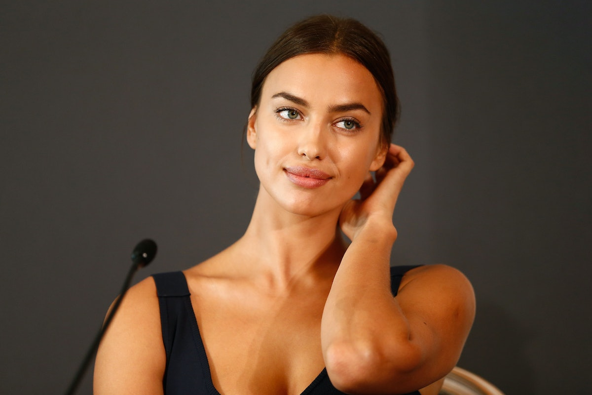 BERLIN, GERMANY - AUGUST 21:  Actress Irina Shayk attends the press conference of Paramount Pictures...