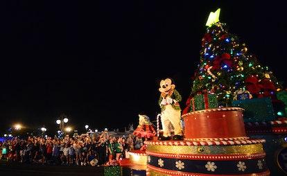 ORLANDO, FLORIDA - NOVEMBER 09:  Disney character Mickey Mouse greats during the 'Mickeys Once Upon ...