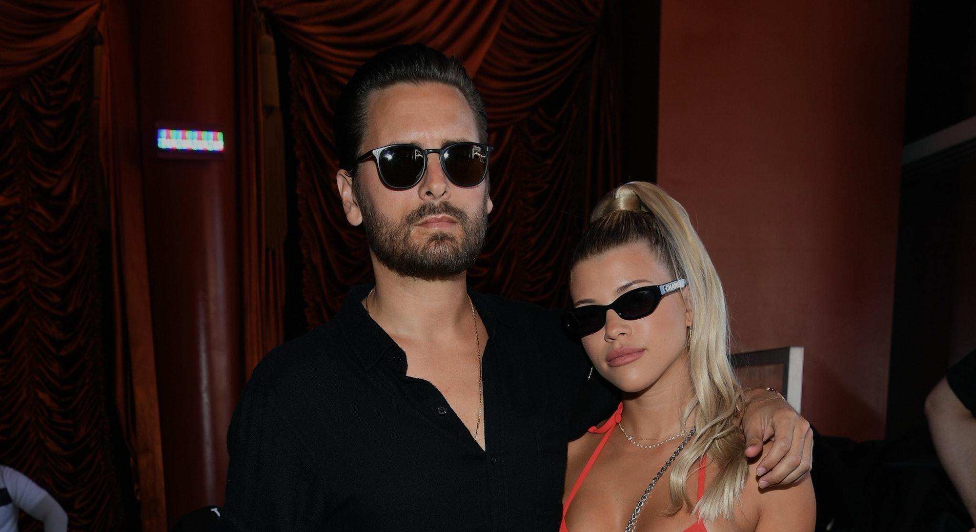 LAS VEGAS, NEVADA - AUGUST 24: Scott Disick and Sofia Richie celebrate Sofia Richie's 21st birthday ...