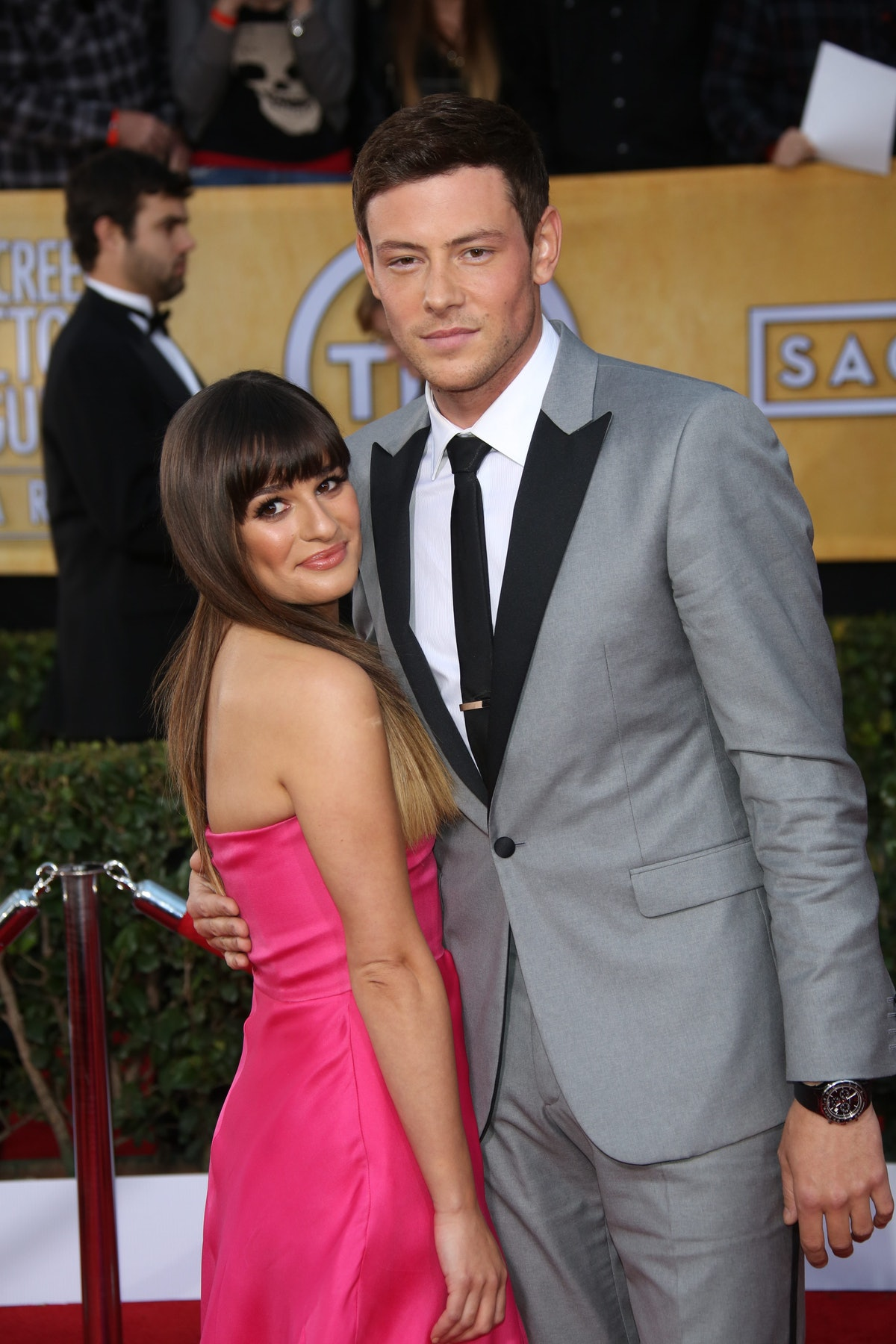 Lea Michele paid tribute to Cory Monteith on the eighth anniversary of his death.