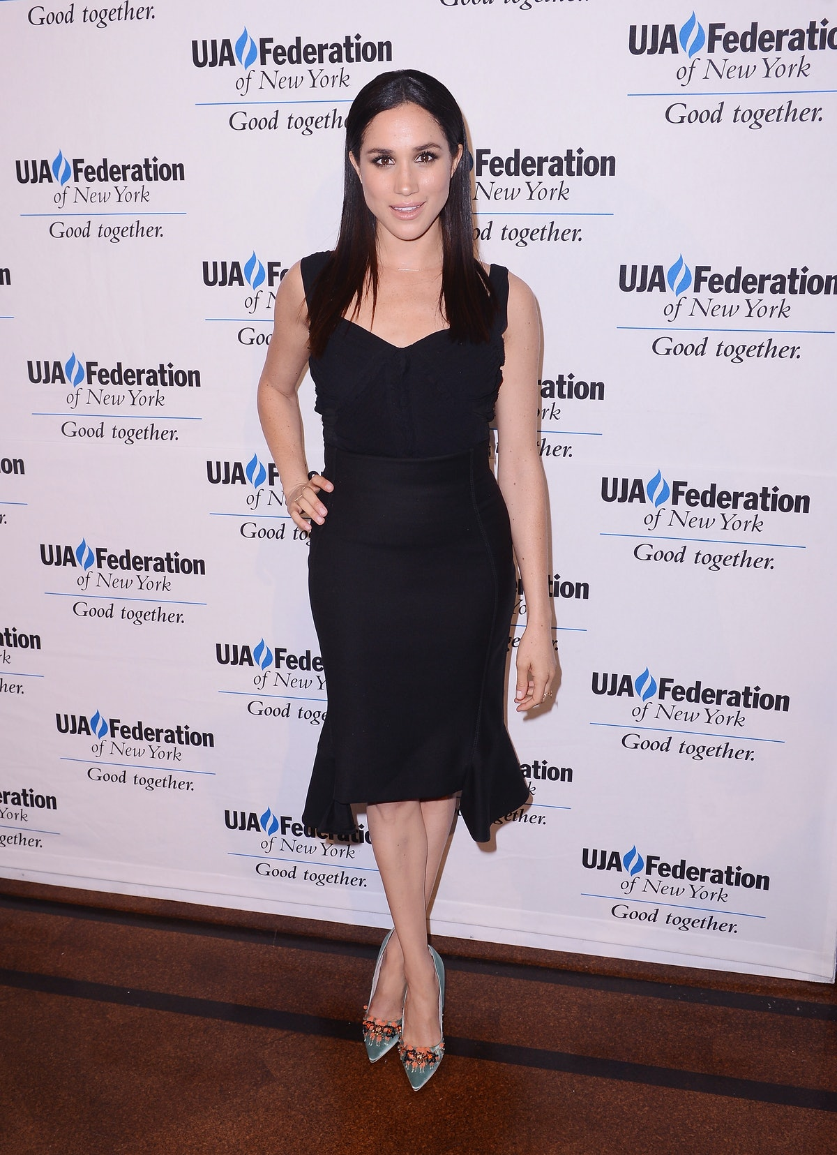 Meghan Markle at the The UJA-Federation of New York's Entertainment Division Signature Gala in New York, 2015