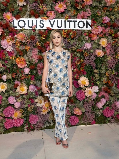 CANNES, FRANCE - JULY 13: Maria Bakalova attends the Louis Vuitton Dinner at Fred L'Ecailler during ...