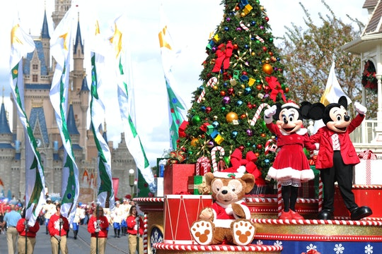 LAKE BUENA VISTA, FL - DECEMBER 01:  In this handout photo provided by Disney, Mickey and Minnie Mou...