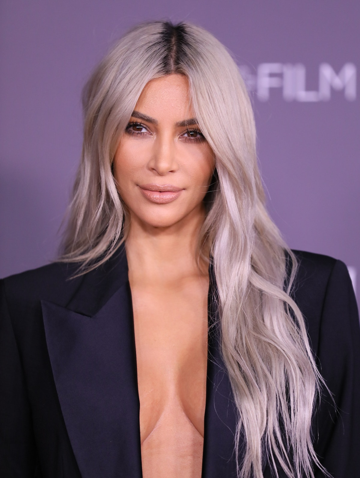 LOS ANGELES, CA - NOVEMBER 04: Kim Kardashian attends the 2017 LACMA Art + Film Gala Honoring Mark Bradford and George Lucas presented by Gucci at LACMA on November 4, 2017 in Los Angeles, California. (Photo by JB Lacroix/ WireImage)