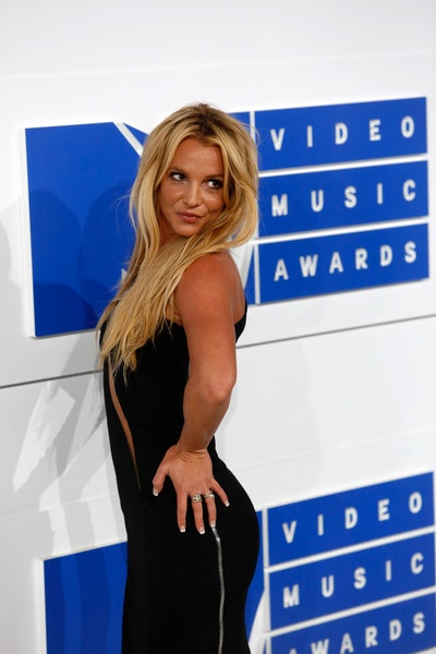 Singer Britney Spears attends the MTV Video Music Awards, VMAs, at Madison Square Garden in New York...