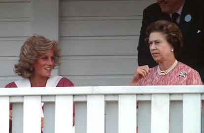 "Princess Diana called Queen Elizabeth ""the Boss."""