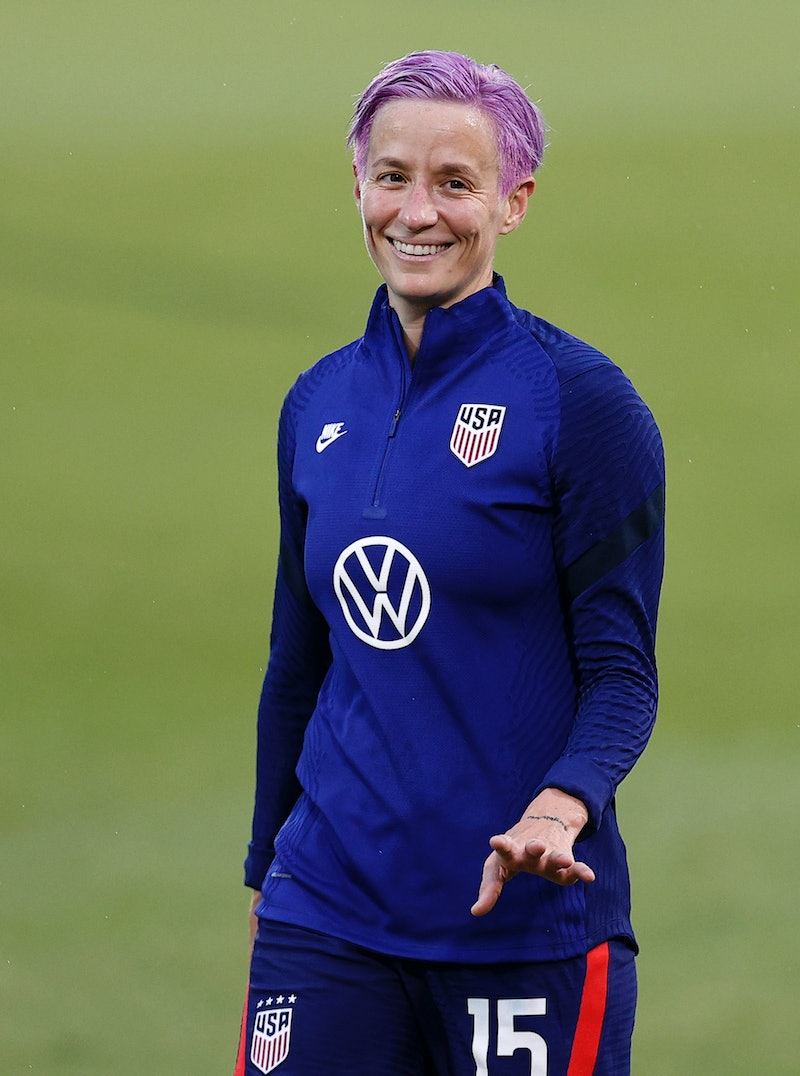 Megan Rapinoe could make Olympics history for Team USA. (Photo by Maddie Meyer/Getty Images)