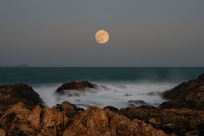 The full moon on October 31, 2020 is the second full moon of a calendar month