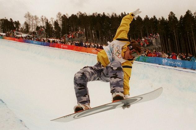 Yuri Yoshikawa, Japan, competes in the snowboard halfpipe competition  (Photo by Tony Marshall/EMPIC...