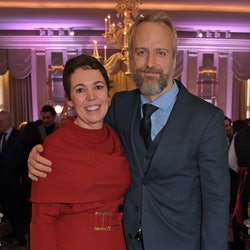 LONDON, ENGLAND - FEBRUARY 08:     Olivia Colman and Ed Sinclair attend attends the 91st Academy Awa...
