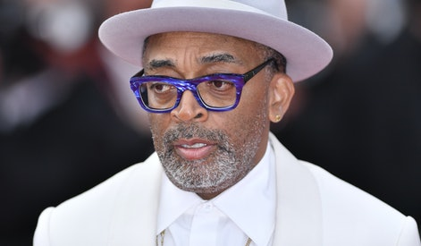 CANNES, FRANCE - JULY 12: Jury President Spike Lee arrives for the screening of the film âThe French...
