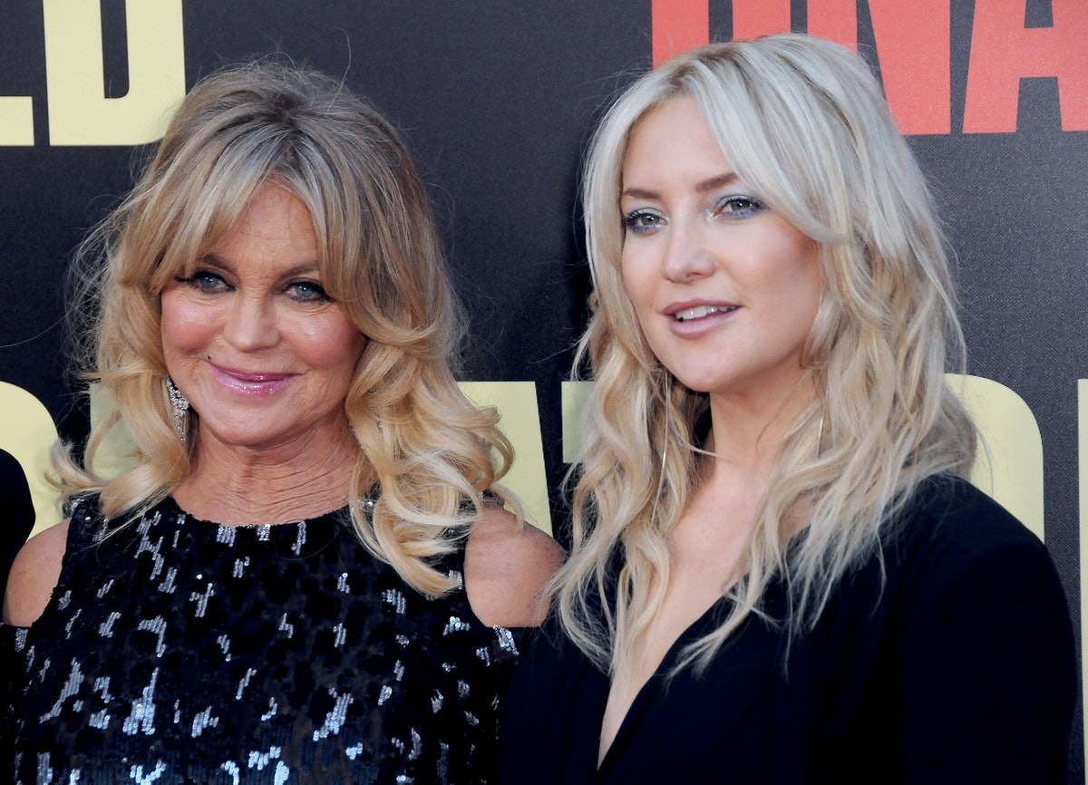 WESTWOOD, CA - MAY 10:  (L-R) Actresses Goldie Hawn and Kate Hudson attend premiere of 20th Century ...