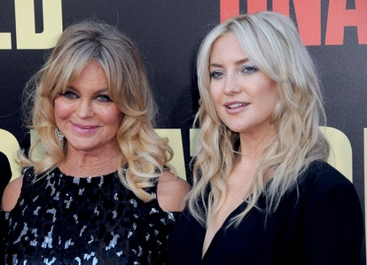 WESTWOOD, CA - MAY 10: (LR) Actresses Goldie Hawn and Kate Hudson attend the premiere of