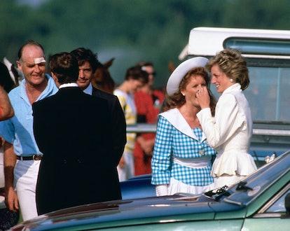 Sarah Ferguson says she and Princess Diana had such fun together.