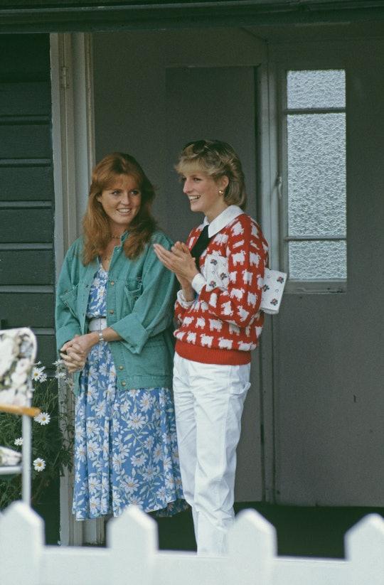 Sarah Ferguson was close to Princess Diana.