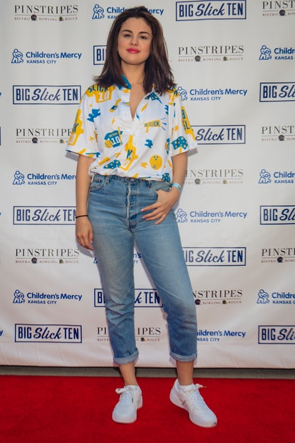 See Selena Gomez's best evening and daytime '90s outfits and how to shop them for yourself.