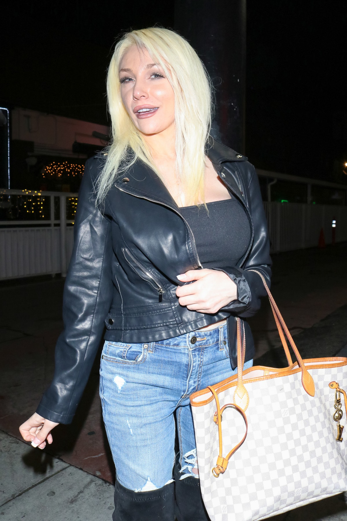 LOS ANGELES, CA - MARCH 10: Courtney Stodden is seen on March 10, 2020 in Los Angeles, California.  ...