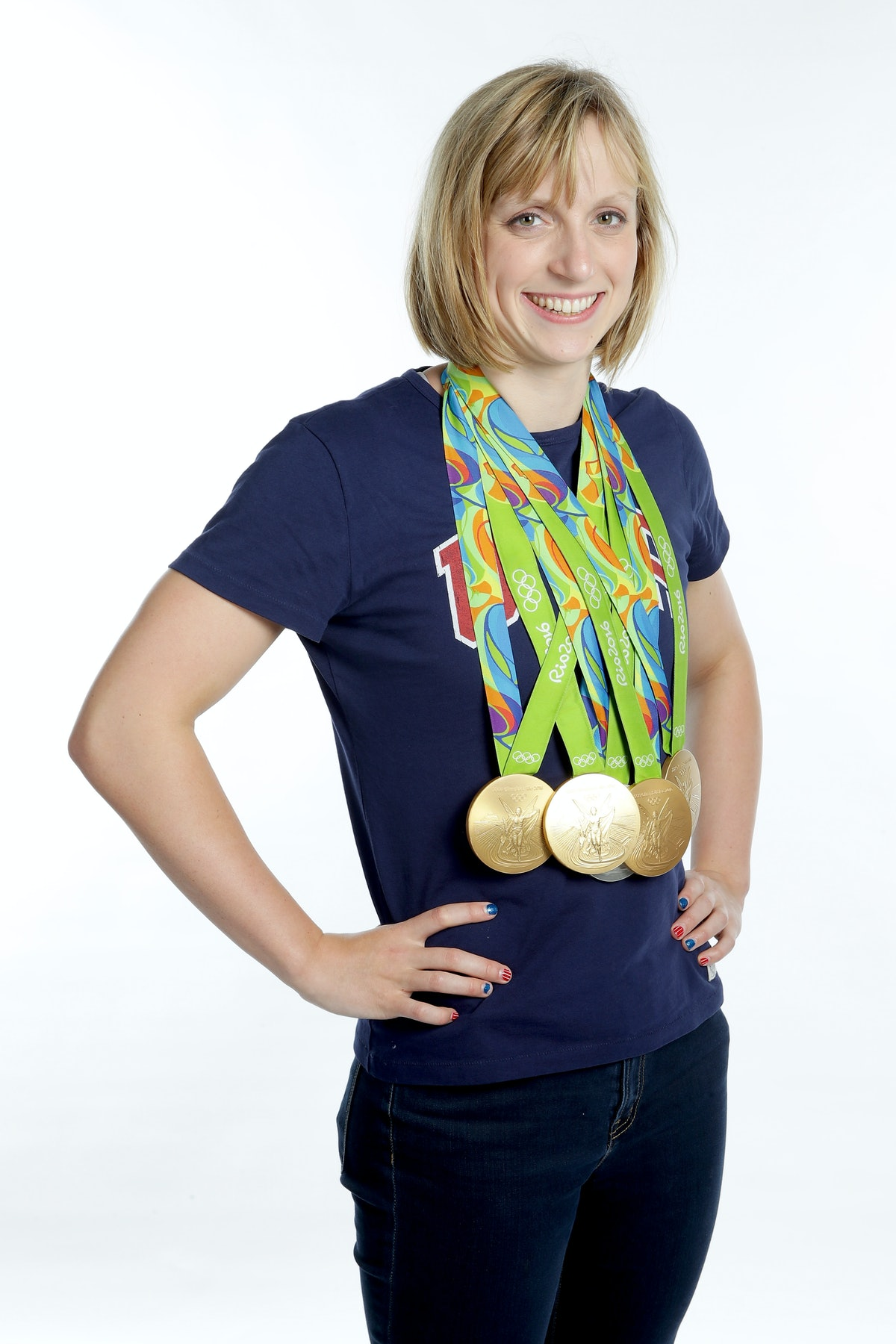 Katie Ledecky doesn't speak about her dating life.