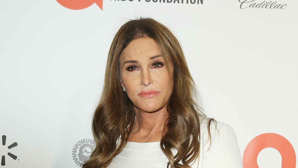 Caitlyn Jenner attends the 28th Annual Elton John AIDS Foundation Academy Awards Viewing Party on Fe...