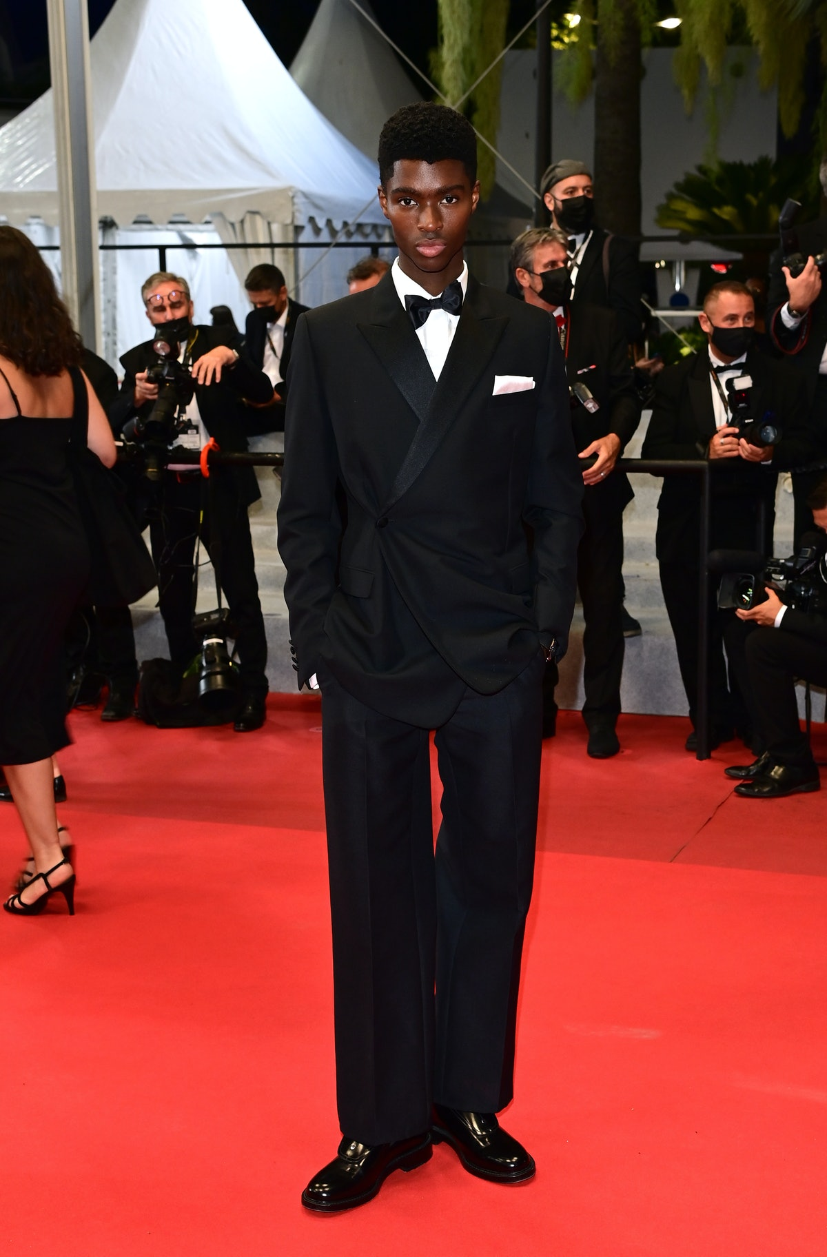 """CANNES, FRANCE - JULY 15: Alton Mason attends the """"Haut Et Fort (Casablanca Beats)"""" screening during the 74th annual Cannes Film Festival on July 15, 2021 in Cannes, France. (Photo by Daniele Venturelli/WireImage)"""