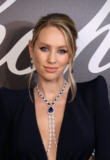 CANNES, FRANCE - JULY 12: Dylan Penn attends the Chopard Gentleman's Evening during the 74th annual ...