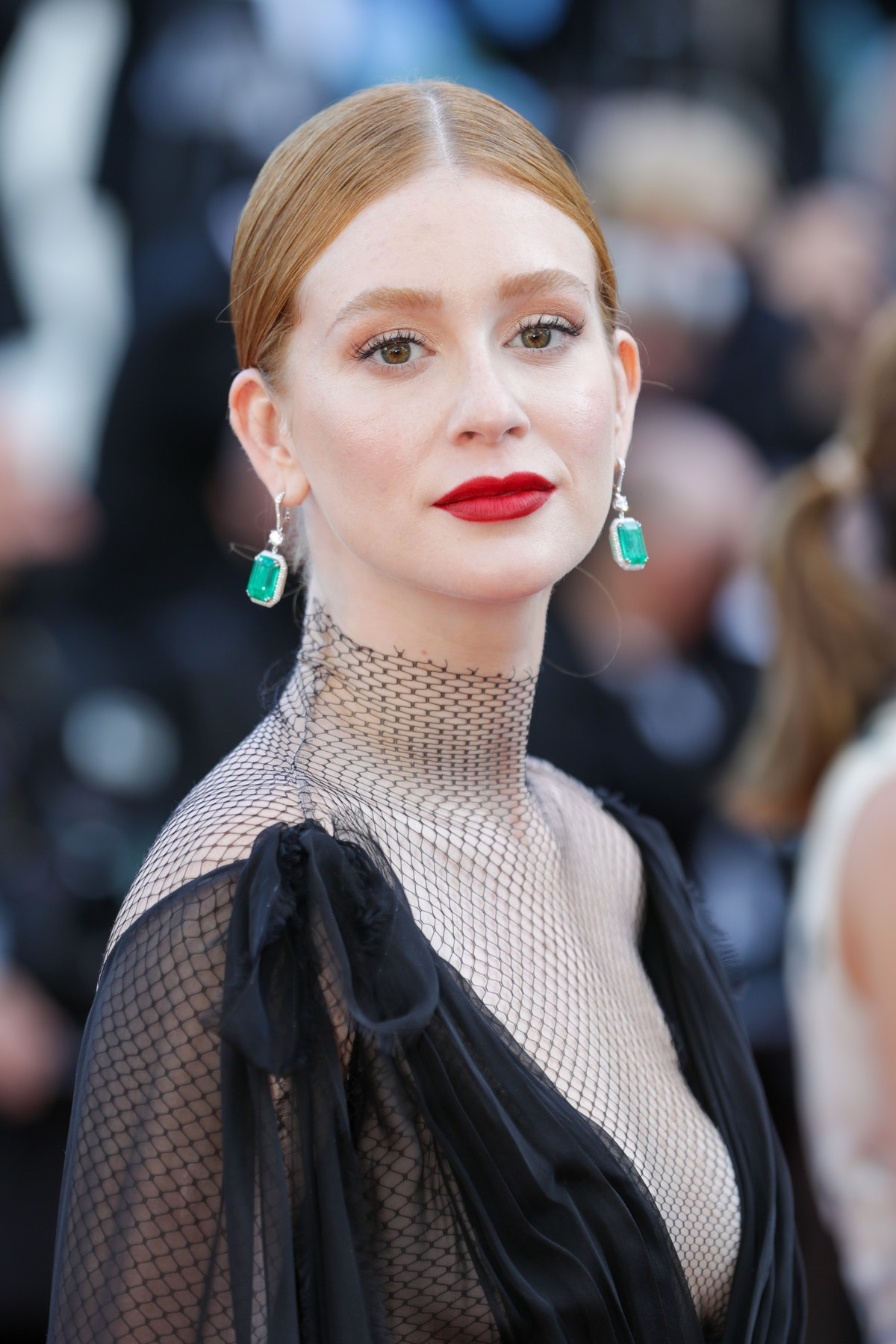 """CANNES, FRANCE - JULY 11: Marina Ruy Barbosa attends the """"Tre Piani (Three Floors)"""" screening during the 74th annual Cannes Film Festival on July 11, 2021 in Cannes, France. (Photo by Stephane Cardinale - Corbis/Corbis via Getty Images)"""