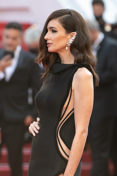 """CANNES, FRANCE - JULY 10: Actress Paz Vega attends the """"De Son Vivient (Peaceful)"""" screening during ..."""
