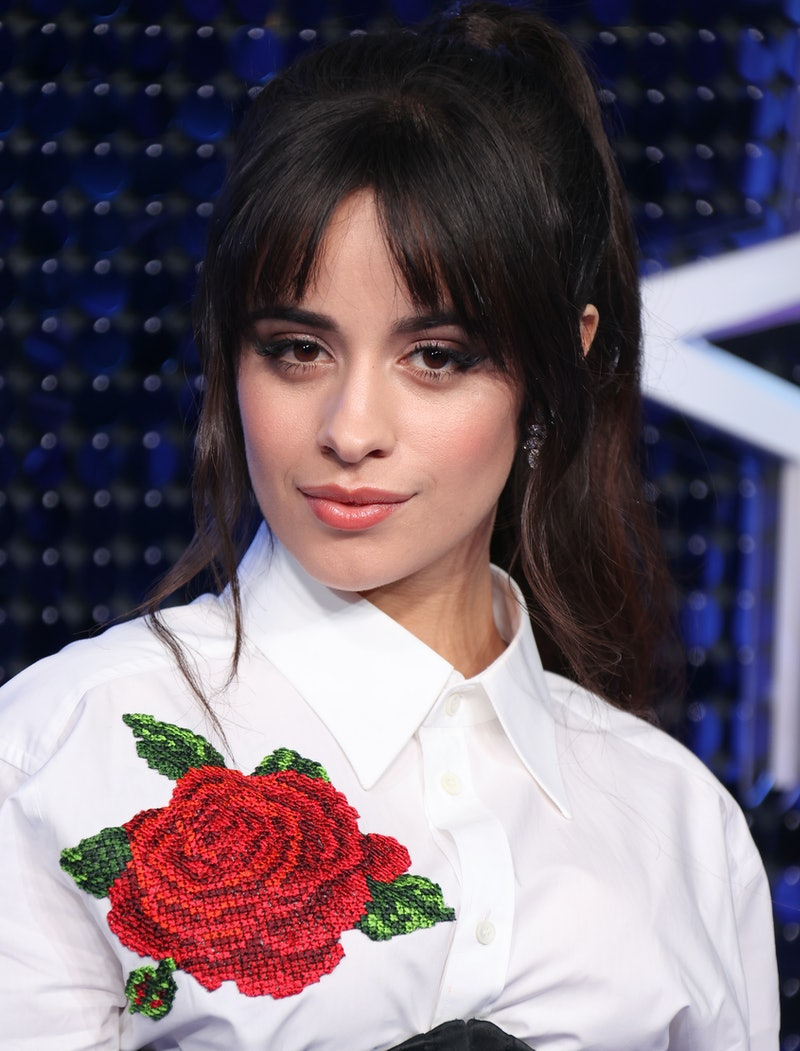 LONDON, ENGLAND - MARCH 05: Camila Cabello attends The Global Awards 2020 at Eventim Apollo, Hammersmith on March 05, 2020 in London, England. (Photo by Mike Marsland/WireImage)