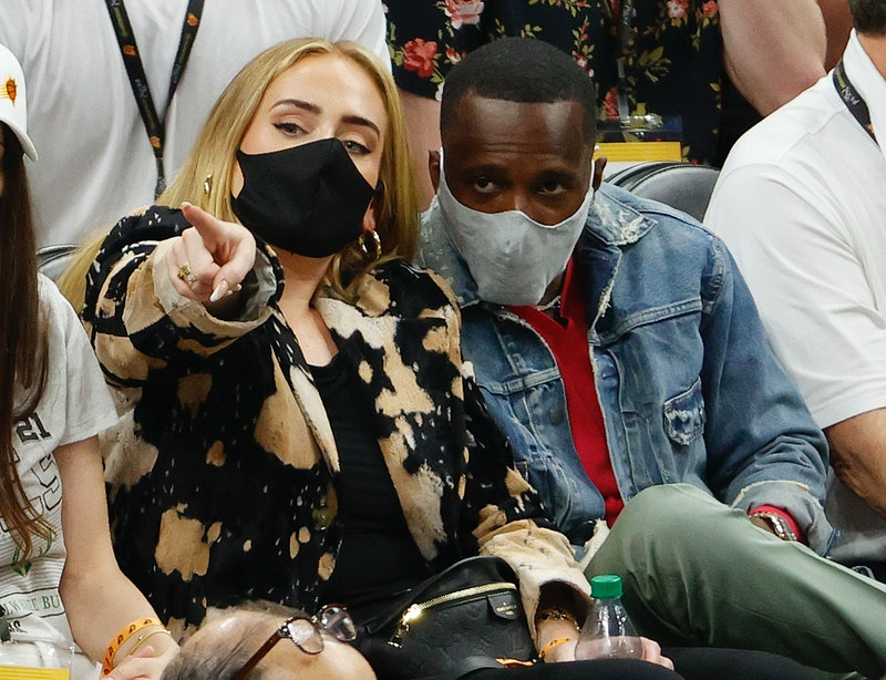 Singer-songwriter Adele and Rich Paul attend NBA Finals game amidst dating rumors.