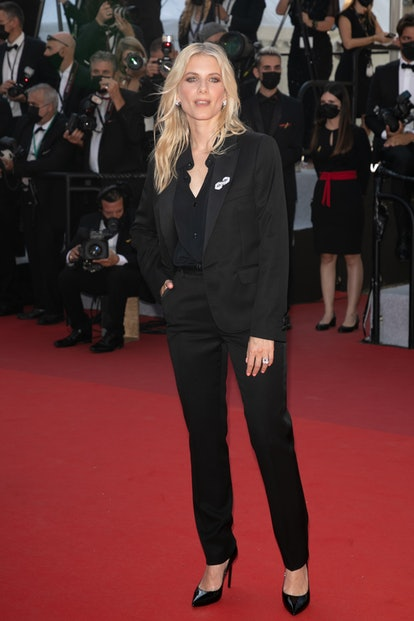 """CANNES, FRANCE - JULY 09: Actress Melanie Laurent attends the """"Benedetta"""" screening during the 74th ..."""