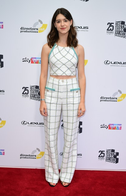 Daisy Edgar-Jones attending the South Bank Sky Arts Awards at the Savoy Hotel in London. Picture dat...