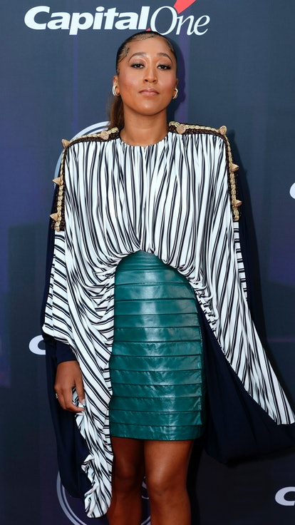 NEW YORK, NEW YORK - JULY 10: Naomi Osaka attends the 2021 ESPY Awards at Rooftop At Pier 17 on July...