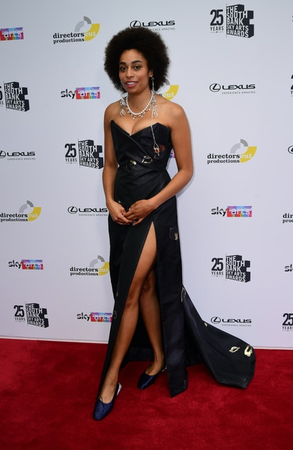 Celeste attending the South Bank Sky Arts Awards at the Savoy Hotel in London. Picture date: Monday ...
