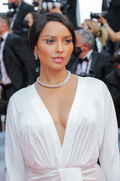 """CANNES, FRANCE - JULY 12: Kat Graham attends the """"The French Dispatch"""" screening during the 74th ann..."""