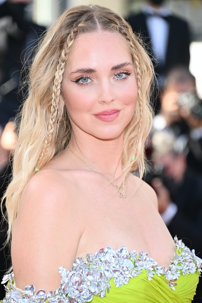 """CANNES, FRANCE - JULY 08: Chiara Ferragni attends the """"Stillwater"""" screening during the 74th annual ..."""