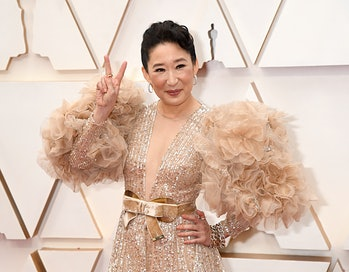 HOLLYWOOD, CALIFORNIA - FEBRUARY 09: Sandra Oh attends the 92nd Annual Academy Awards at Hollywood a...