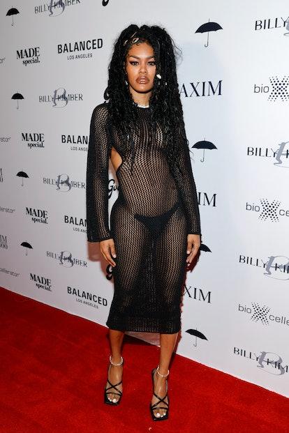 LOS ANGELES, CALIFORNIA - JULY 13: Teyana Taylor attends a Maxim Hot 100 Event celebrating Teyana Ta...