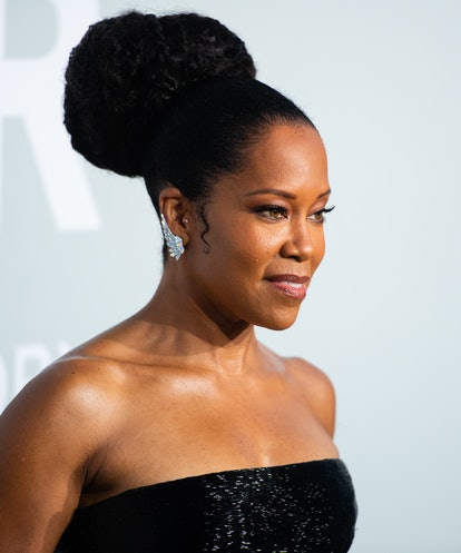 CAP D'ANTIBES, FRANCE - JULY 16: Regina King attends the amfAR Cannes Gala 2021 during the 74th Annu...