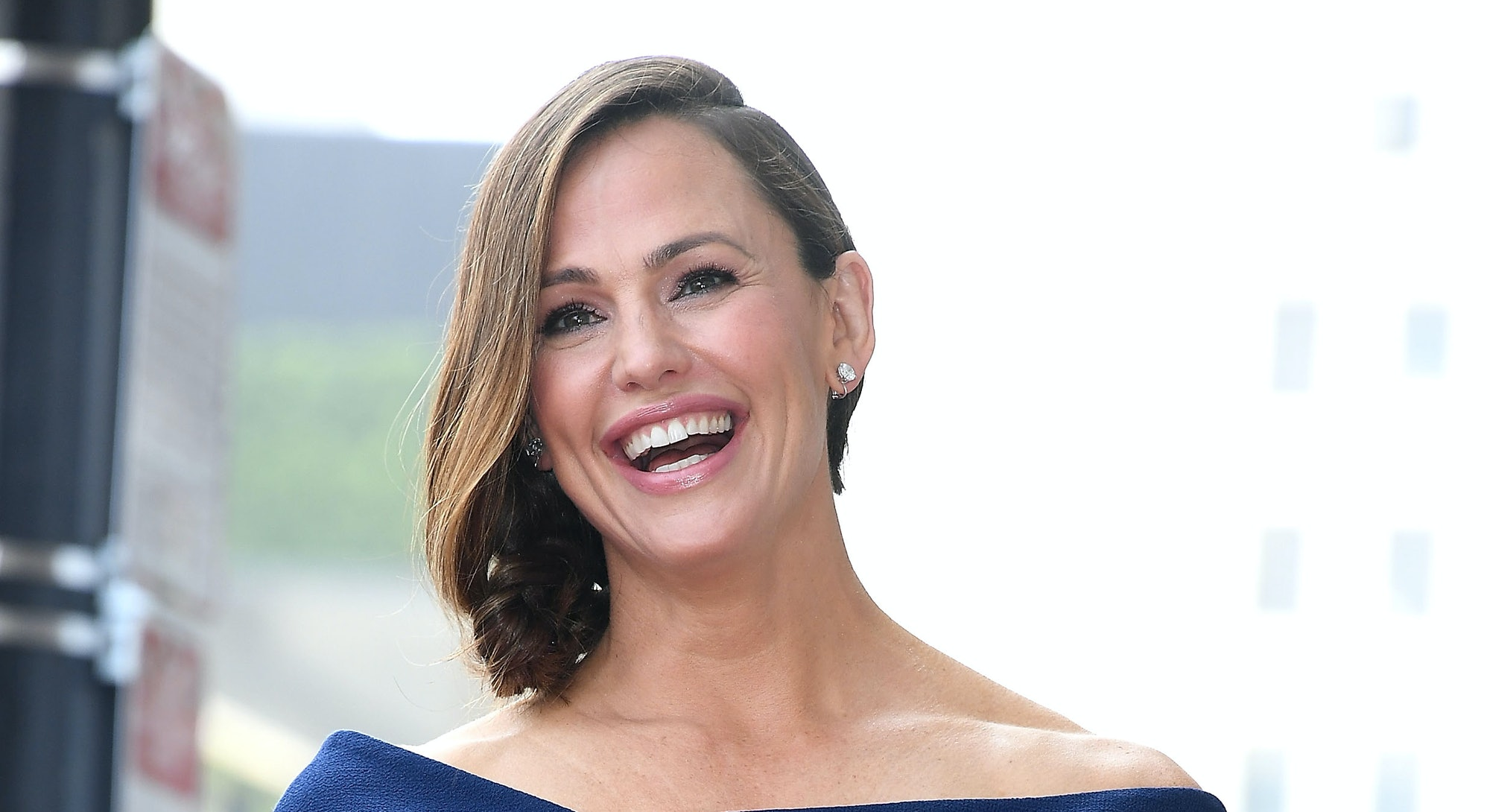 HOLLYWOOD, CA - AUGUST 20:  Jennifer Garner Honored With Star On The Hollywood Walk Of Fame on Augus...