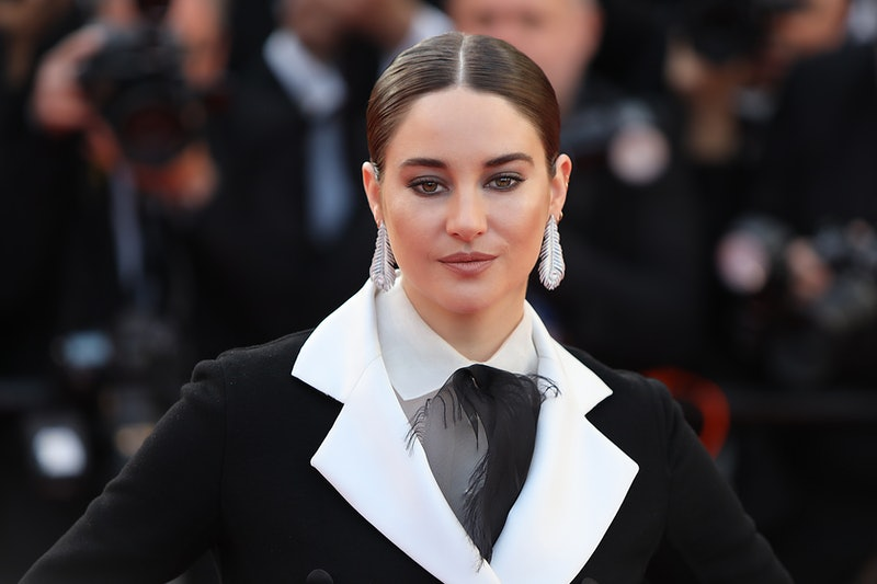 """CANNES, FRANCE - MAY 16: Shailene Woodly attends the screening of """"Rocketman"""" during the 72nd annual..."""