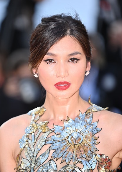 """CANNES, FRANCE - JULY 17: English actress Gemma Chan arrives for the screening of the film """"OSS 117 ..."""