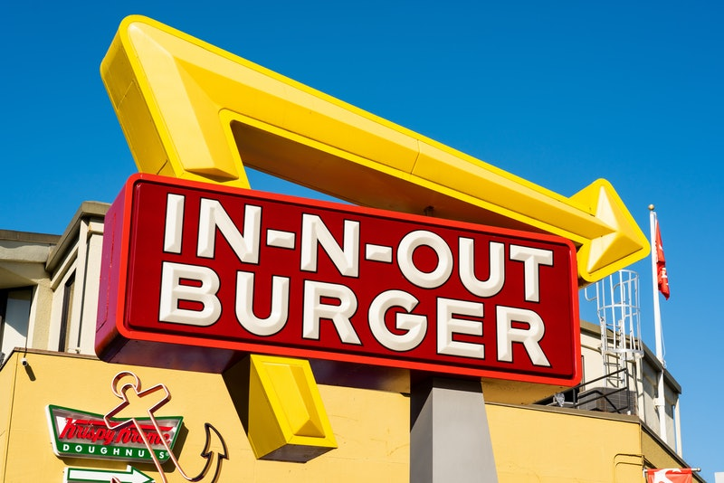 The secret menu at In-N-Out Burger includes animal-style fries and the Flying Dutchman.
