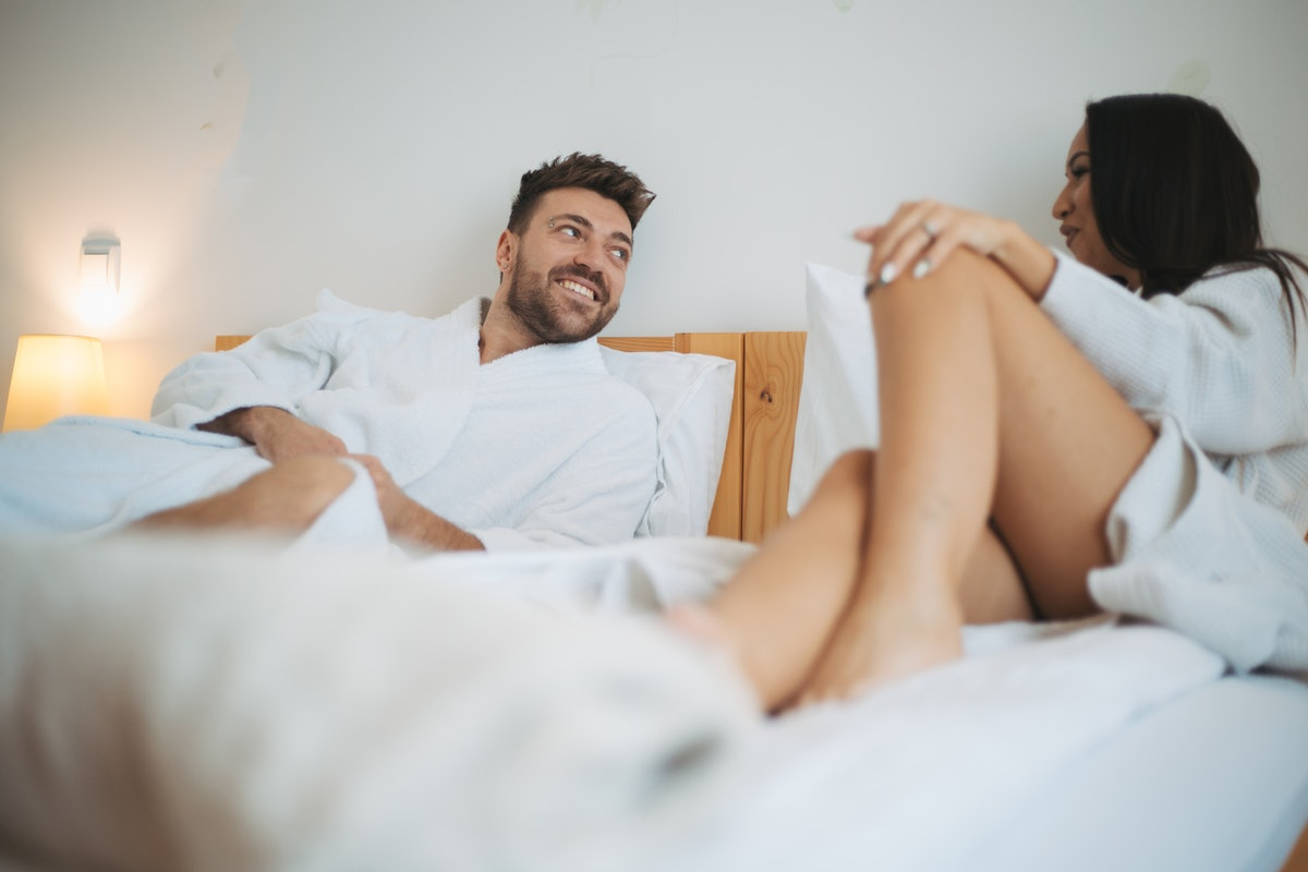 If your partner doesn't want to be intimate anymore, you should have a discussion about your sex liv...